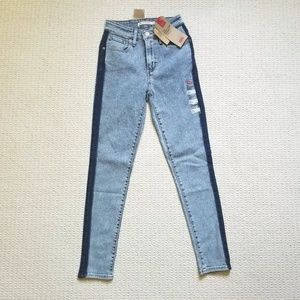 Levi's 721 high rise skinny jeans size 24 nwt